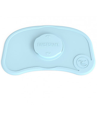 Twistshake Antislip Placemat Click-Mat Mini - Pastel Blue - BPA, BPS and BPF-free! Meal Sets