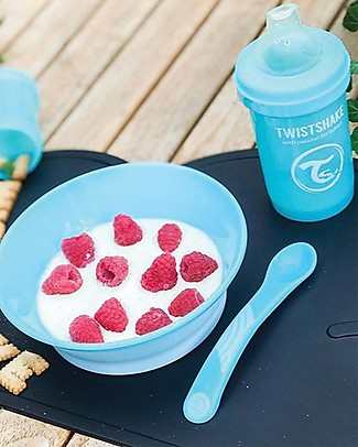 Twistshake Set 2 Feeding Spoon - Pastel Blue - BPA, BPS and BPF-free! Spoons, Cutlery & Chopsticks