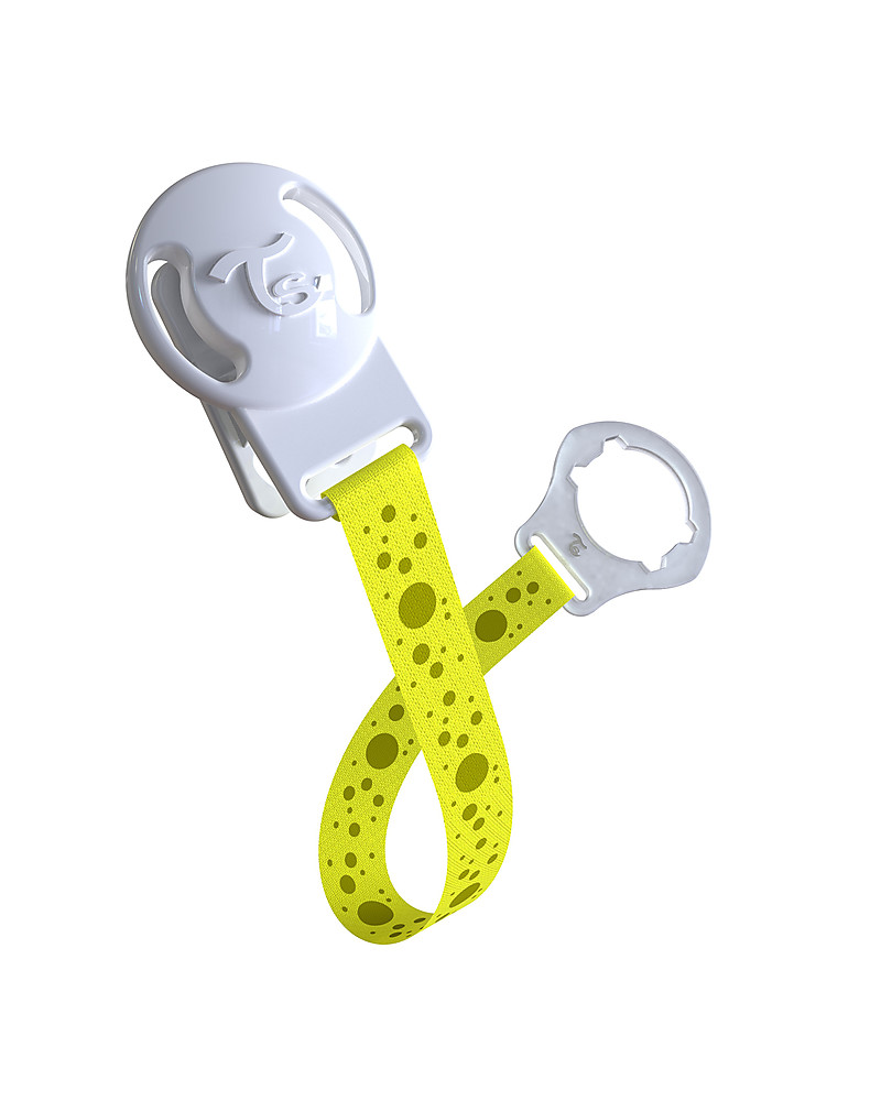Twistshake Pacifier Clip Yellow