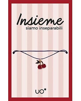 "UO* Bracelet Charm ""Insieme siamo inseparabili"" - Gift idea Bracelets"