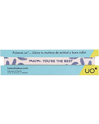 "UO Bracelet ""Mum you're the best"" - Gift idea Bracelets"