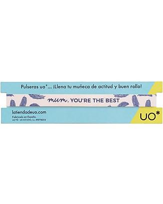 "UO Bracelet ""Mum you're the best"" - Gift idea Bracelets"