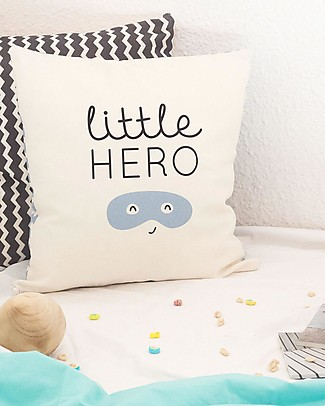 "UO Cushion cover ""Little Hero"" null"