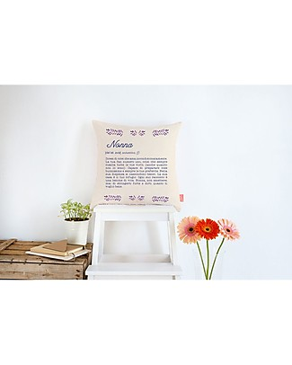 "UO Cushion Cover ""Nonna""- Grandmother's perfect gift! Cushions"