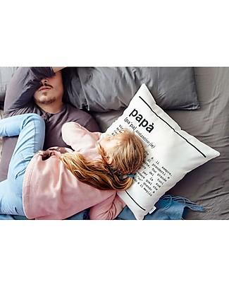 "UO Cushion Cover ""Papà Definizione"" - Dad's gift idea Cushions"