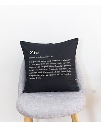 "UO Cushion Cover ""Zio""- Uncle's perfect gift! Cushions"