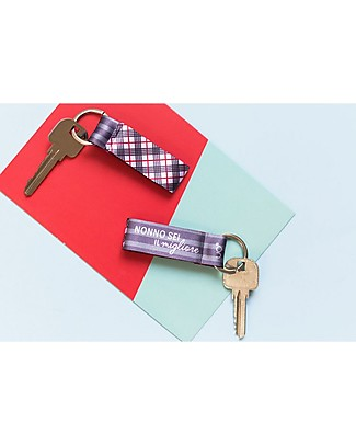 "UO Key Rings ""Grandpa You're the Best"" - Gift idea Key Rings"