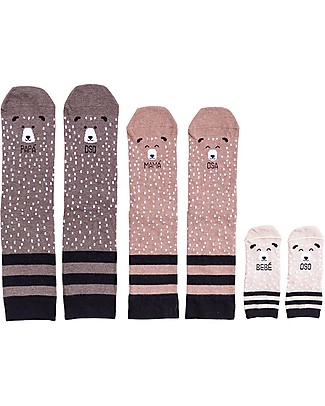 "UO Kit Family ""Familia Oso"" - Gift idea whole family Socks"