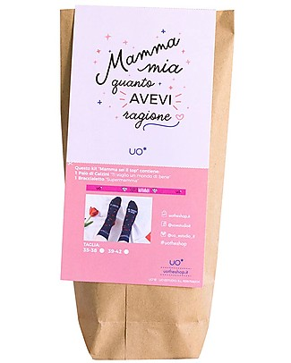 "UO* Kit ""Mamma Top"" - Gift idea Socks"
