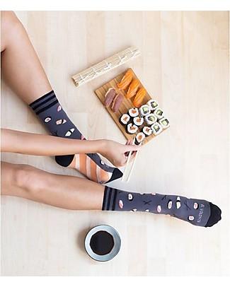 "UO* Socks ""Ti amo a volontà"" - Gift idea, blue Socks"