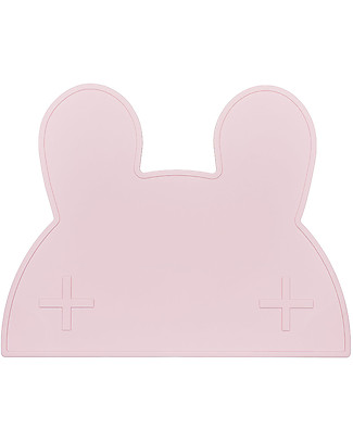 We Might Be Tiny Bunny Placie Placemat, Pink  - BPA free! Meal Sets