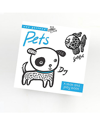 Wee Gallery Pets: A Slide and Play Book – Interactive book for 2-5 year olds Story Making Games