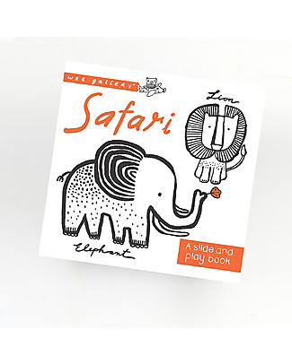 Wee Gallery Safari: A Slide and Play Book - Interactive book for 2-5 year olds Story Making Games