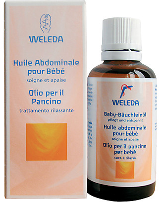 Weleda Baby Tummy Oil - Relieves colic and digestive upset, 100% natural Body Lotions And Oils
