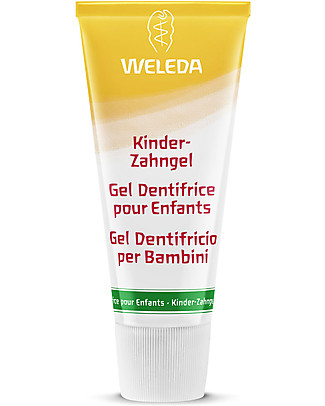 Weleda Calendula Children's Tooth Gel - Ideal for baby teeth Toothpaste and Toothbrush
