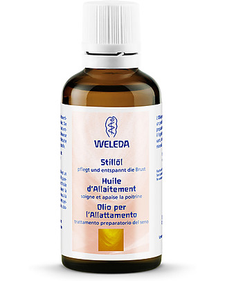 Weleda Nursing Oil - For comfortable, healthy breast-feeding, 100% natural Body Lotions And Oils