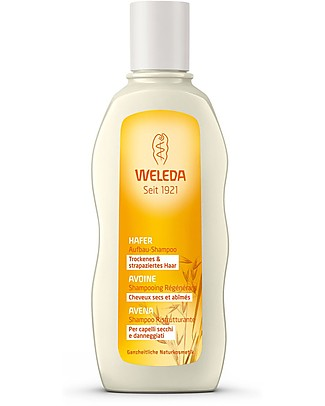 Weleda Oat Restructuring Conditioner, 190 ml - Fights split ends Shampoos And Bath Wash