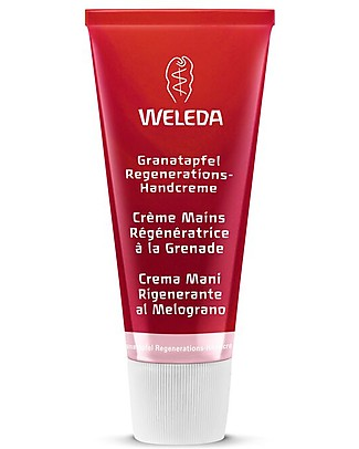 Weleda Pomegranate Regenerating Hand Cream, 50 ml - Anti-oxidant, anti-aging Body Lotions And Oils