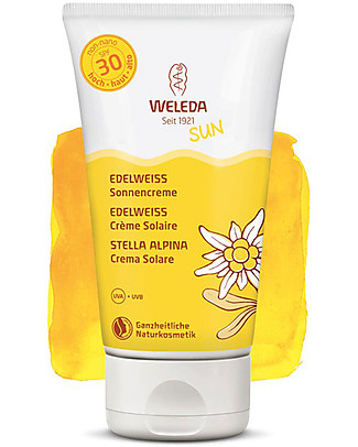 Weleda Sun Lotion SPF 30, Stella Alpina - 150ml, High Protection! Sun Screen