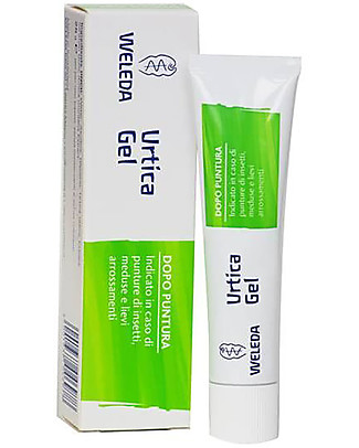 Weleda Urtica Gel, After Sting, 25 g - In case of insect bites, jellyfish touch, itching, sunburns Mosquito Repellant