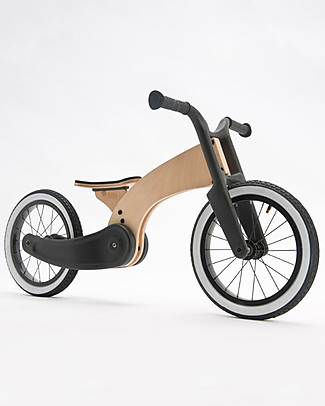 Wishbone Design Studio Cruise Bike, Wood + Black - 2+ years! Bycicles