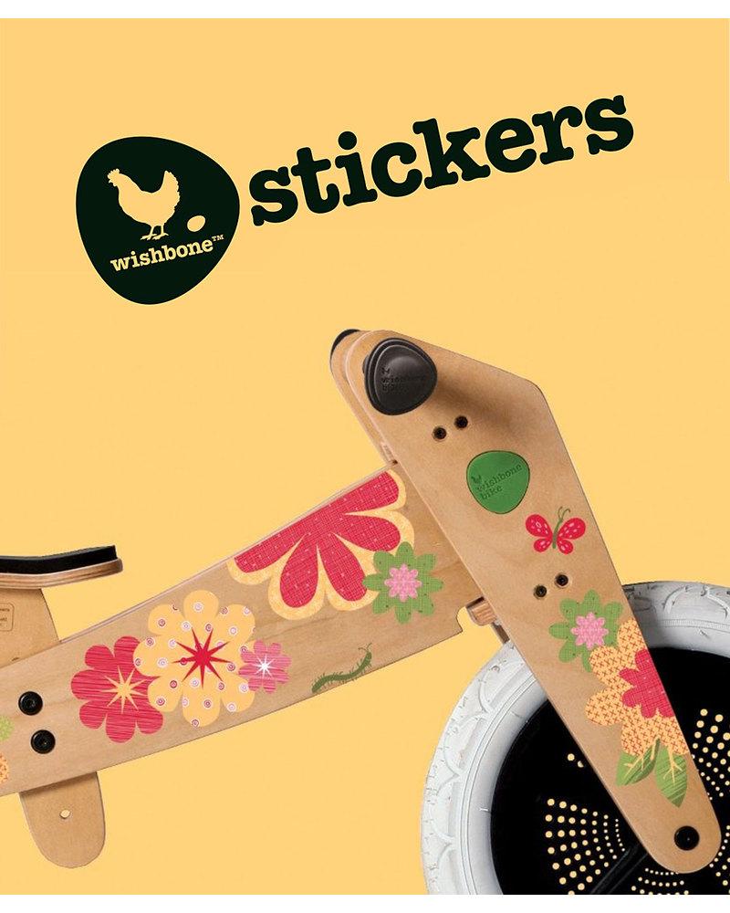 Wishbone design studio flower stickers customize your wishbone bike balance bikes