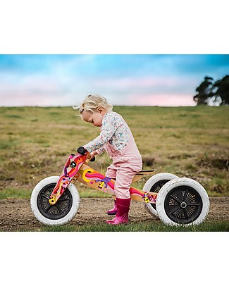 Wishbone Design Studio Wishbone Bike 3 in 1, Limited Edition Music - Grows with your Child! From 1 to 5 Years!  Balance Bikes