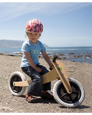 Wishbone Design Studio Wishbone Bike Classic 3 in 1 -  Grows with your Child! From 1 to 5 Years! Balance Bikes