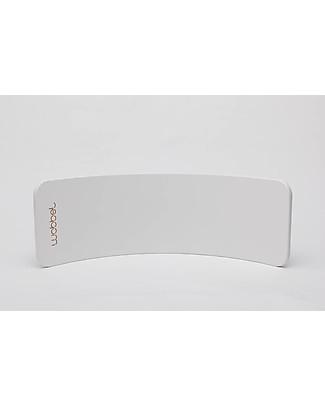 Wobbel Wobbel Original Wooden Balance Board, Limited Edition White Rides On