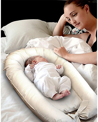 Woodly Baby Nest, Upholstered Mattress with High Edges - 88x60 cm Mattresses