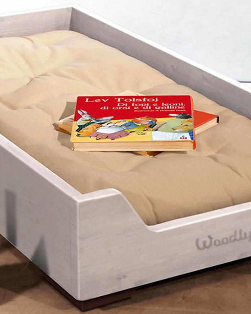 Woodly Futon Mattress 160x70 Cm 100 Organic Cotton Perfect For Montessori Bed