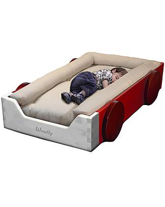 Woodly Montessori Bed Bumper SMALL - 100% Organic Cotton  Montessori Beds