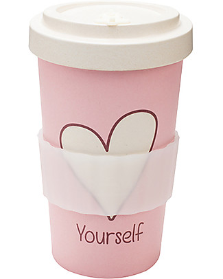 Woodway Bamboo Cup, Love Yourself - 500 ml  Cups & Beakers