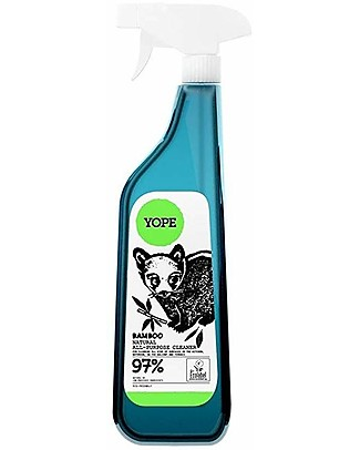 Yope Natural Universal Cleaner Spray for Ceramic, Steel or Plastic, 750 ml - Bamboo Spray