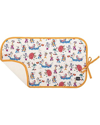 Zac 4 Kids Changing Pad, Venice Collection - Ocra Party Travel Changing Mats
