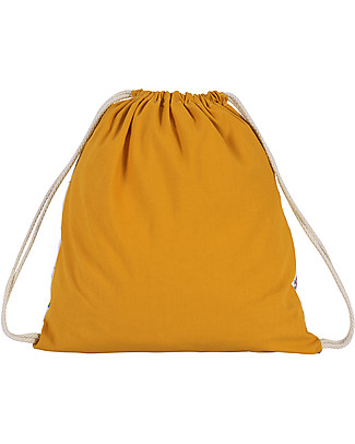 Zac 4 Kids Drawstring Bag - Venice Collection, Saffron/Party - Perfect for pre-schoolers! Small Backpacks