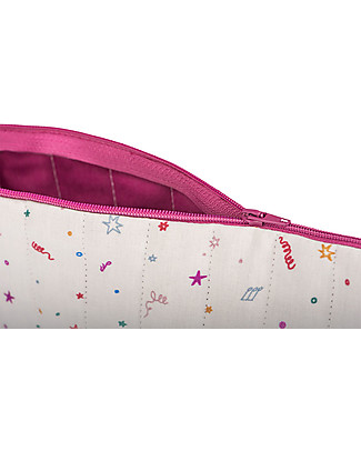 Zac 4 Kids Pencil Case, Venice Collection - Purple Confetti Pencil Cases