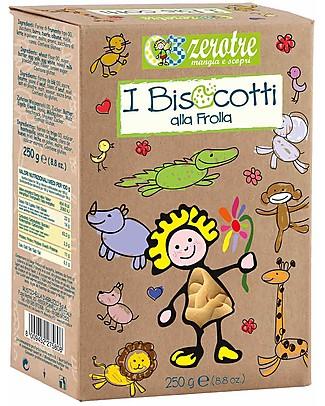 Zero Tre Shortbread Biscuits - 250gr Baby Cereal