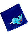 Zoocchini 2-in-1 Buddy Stroller Blanket, Whale - Super soft pile, 69 x 100 cm Blankets