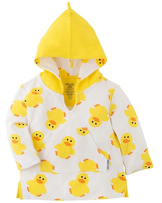 Zoocchini Baby Cover Up UPF 50+, Puddles l'Anatroccolo null