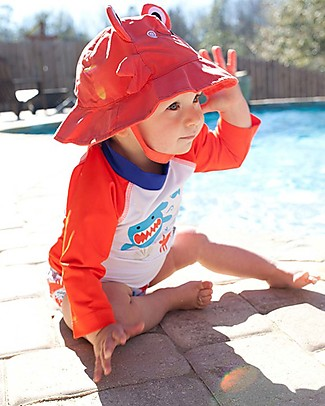Zoocchini Baby Rashguard, Deep Sea Mates Uv-Safe Sunsuits