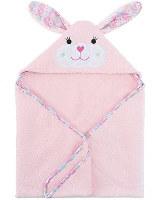 Zoocchini Baby Towel with Hood, Beatrice the Bunny - 100% cotton Towels And Flannels