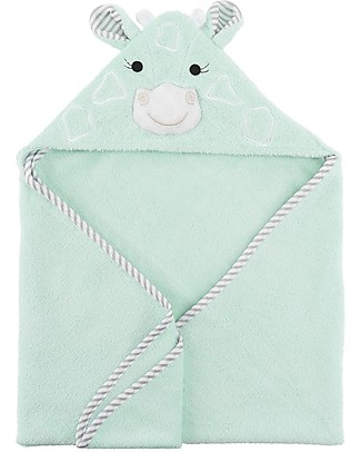 Zoocchini Baby Towel with Hood, Jamie the Giraffe - 100% cotton Towels And Flannels