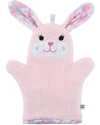 Zoocchini Bath Mitt, Beatrice the Bunny - 100% cotton null