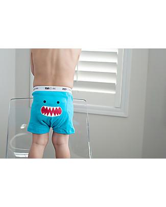 Zoocchini Boy Boxer Set of 3, Monster Mash – 100% organic cotton Training Pants