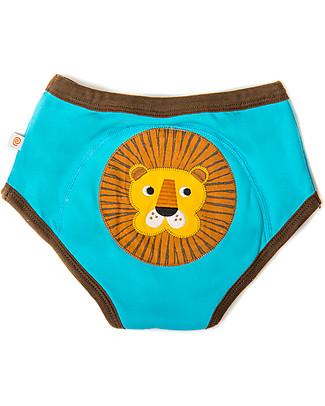 Zoocchini Boys Padded Training Pant Set, 3 pieces, Safari Friends – 100% organic cotton Training Pants