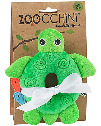 Zoocchini Buddy Rattles, Turtle - Velour Rattles