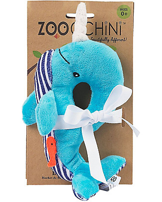 Zoocchini Buddy Rattles, Whale - Velour Rattles