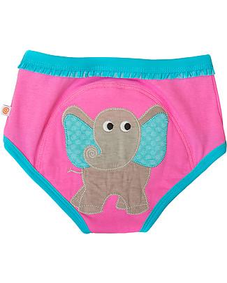 Zoocchini Girls Padded Training Pant Set, 3 pieces, Safari Friends – 100% organic cotton Training Pants