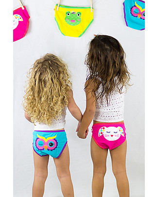 Zoocchini Girls Pants, Calypso - Set of 3 100% Organic Cotton Briefs
